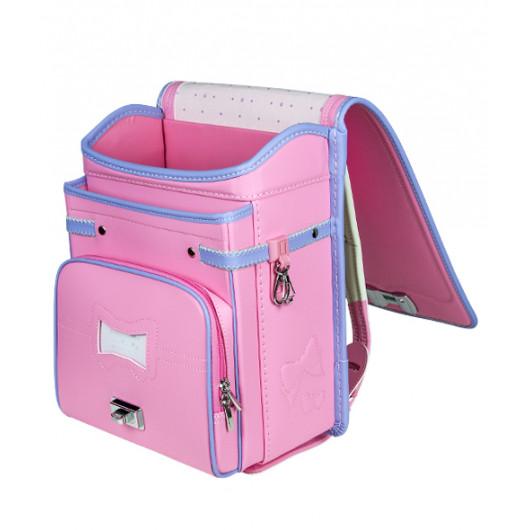Школьный ранец с ортопедической спинкой Randoseru Hikari Розовый  (арт CL027)