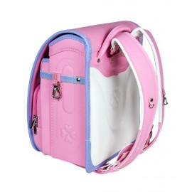 Школьный ранец с ортопедической спинкой Randoseru Hikari Розовый  (арт CL054)