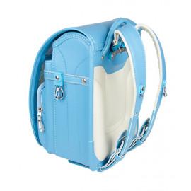 Школьный ранец с ортопедической спинкой KIDS AMI Голубой (Арт. DL016)