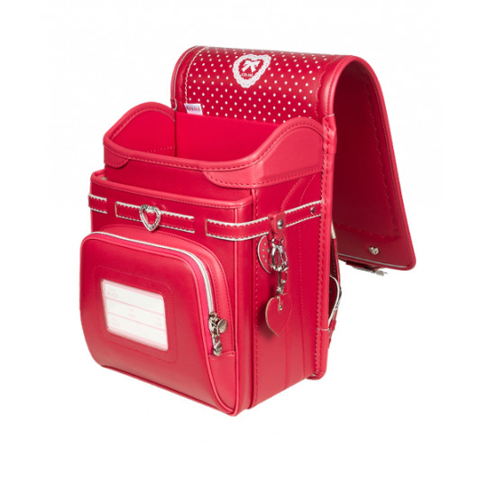 Школьный ранец с ортопедической спинкой KIDS AMI Красный  (Арт. DL017)