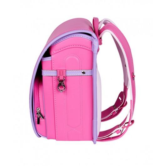 Школьный ранец с ортопедической спинкой Randoseru Hikari Розовый (арт CL002)