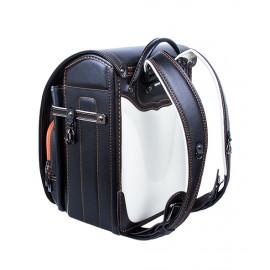 Школьный ранец с ортопедической спинкой Randoseru Umi Черный (арт UL005)
